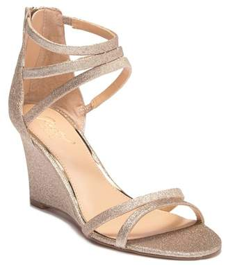 Badgley Mischka Maida Wedge Sandal