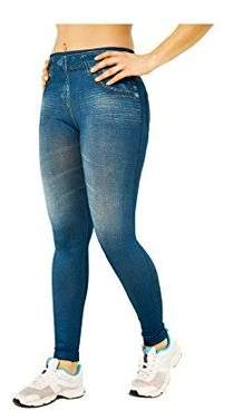 Beautyko Fitting Design Slim Leggings Jean Jeggings No Visible Panty Lines