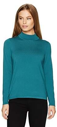 Pendleton Women's Size Washable Silk Mockneck Pullover Sweater