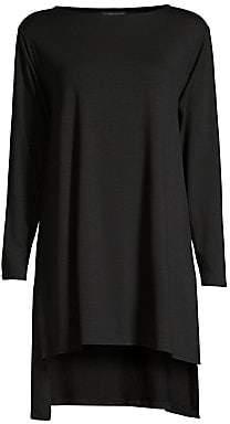 Eileen Fisher Women's Longline High-Low Tunic Top