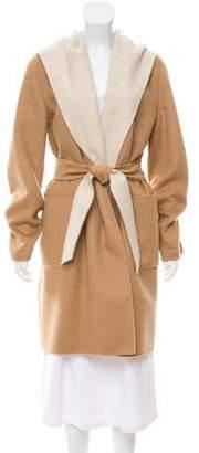 Max Mara Hooded Reversible Coat w/ Tags