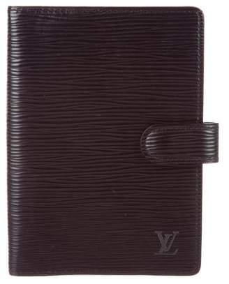 Louis Vuitton Epi Small Ring Agenda Cover
