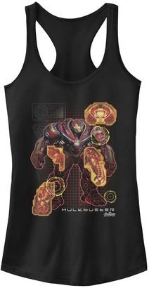 Licensed Character Girls 7-16 Marvel Hulkbuster Armor Schematics Tank
