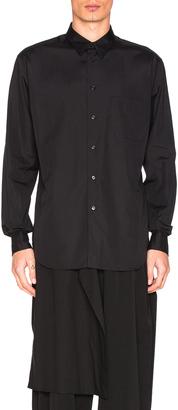 Yohji Yamamoto Button Down Shirt $400 thestylecure.com