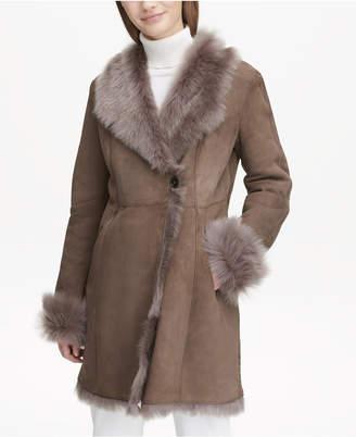 Calvin Klein Toscana Shearling Coat