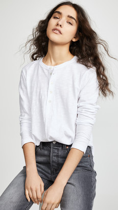 Wilt Shifted Henley Long Sleeve Tee