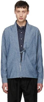 Visvim Blue Chambray Lhamo Shirt