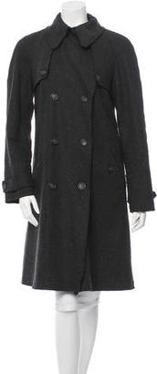 D&G Wool Double-Breasted Coat