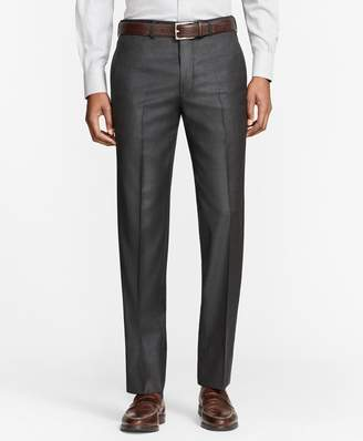 Brooks Brothers Milano Fit Whipcord Wool Trousers