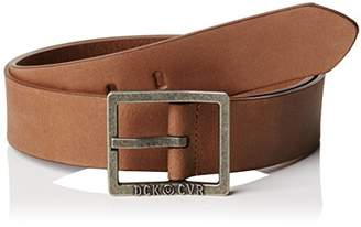 Duck and Cover Men's Full-Grain-Leather Belt,(Manufacturer Size:Small)