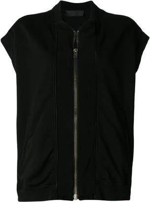 Haider Ackermann sleeveless zipped jacket