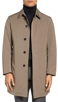 Sanyo Lincoln Classic Fit Trench Coat $575 thestylecure.com