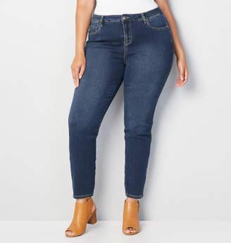 Avenue Butter Skinny Jean in Medium Wash