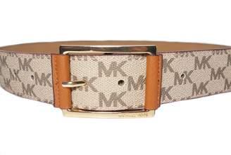 d41aaae871c at Amazon Canada · Michael Kors Womens Tan  Logo Belt