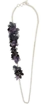 Lanvin floral-appliquéd chain necklace