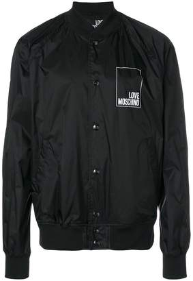 Love Moschino logo bomber jacket