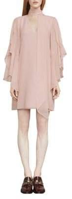BCBGMAXAZRIA Caia Ruffle-Sleeve Shift Dress