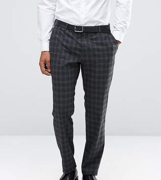 Jack and Jones Skinny Suit Pant in Check