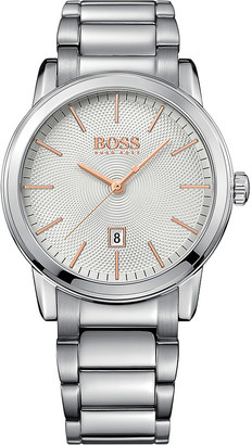 HUGO BOSS 1513401 Classic stainless steel watch $167 thestylecure.com