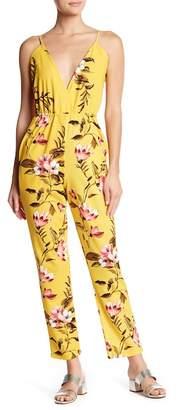 Velvet Torch Floral Sleeveless Jumpsuit