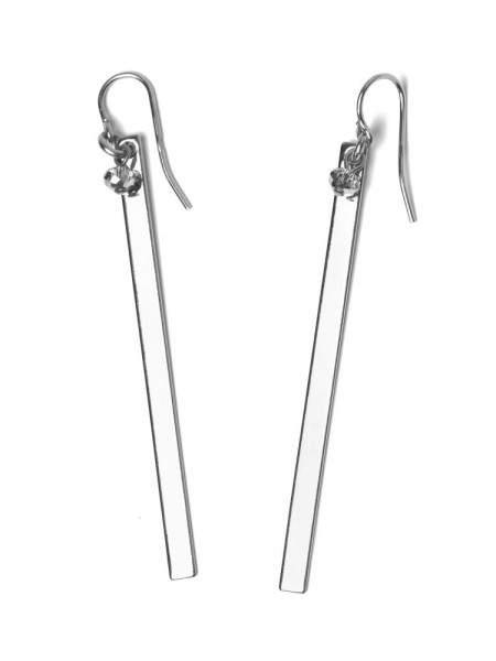 Styleserver DE Tomshot Ohrring Platine Silber