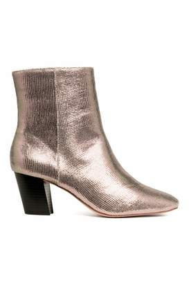 H&M Shimmering Ankle Boots