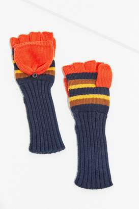 Urban Outfitters Sporty Stripe Convertible Glove