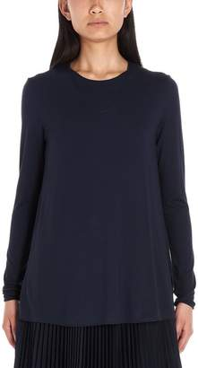 Max Mara 'S Pleated Skirt Top and Tee Set
