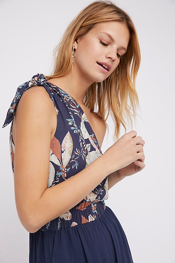 Island Time Asymmetrical One Piece by Free People
