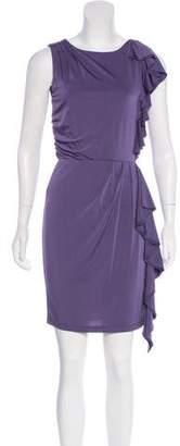 Alice + Olivia Ruffled Mini Dress