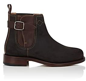 Cartujano Espana Women's Oiled Suede Chelsea Boots - Brown