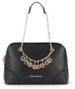 Love MoschinoZippered Shoulder Bag