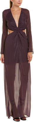The Jetset Diaries Shiva Lurex Maxi Dress