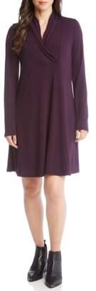 Karen Kane Taylor Surplice Neck Swing Dress