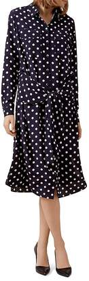 HOBBS LONDON Lucy Printed Silk Dress - 100% Exclusive $395 thestylecure.com