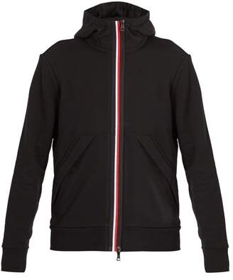 Moncler Hooded Cotton Jacket - Mens - Black