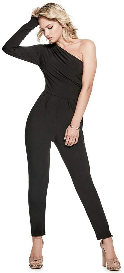 GUESS Women's Bobby One-Shoulder Jumpsuit
