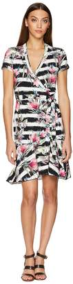Nicole Miller Claudette Wrap Dress Women's Dress