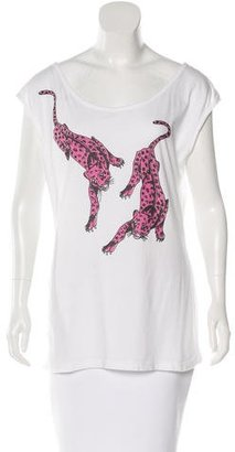 Alice by Temperley Printed Sleeveless Top $65 thestylecure.com