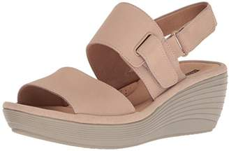 Clarks Women's Reedly Breen Wedge Sandal