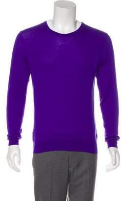 Ralph Lauren Purple Label Cashmere Scoop Neck Sweater