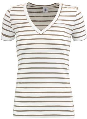 Petit Bateau Striped Cotton-Jersey T-Shirt $47 thestylecure.com