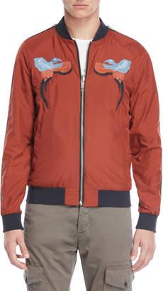 Antony Morato Reversible Rust & Black Jacket
