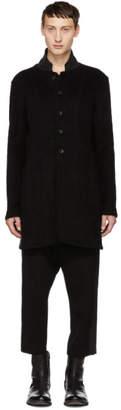 The Viridi-anne Black Button Down Coat