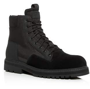 G Star Men's Powel Suede & Nylon Boots