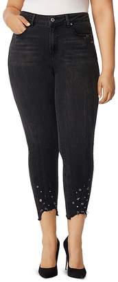Wilson Rebel x Angels Embellished Skinny Ankle Jeans in Doheny