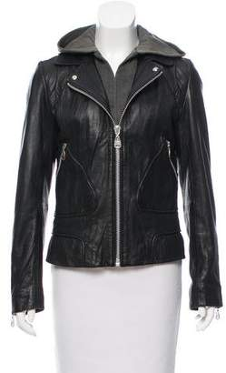 Doma Tailored Leather Jacket