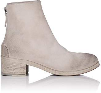 Marsèll Women's Back-Zip Suede Ankle Boots