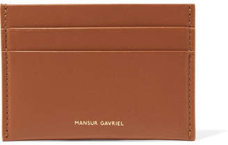 Mansur Gavriel Leather Cardholder - Tan