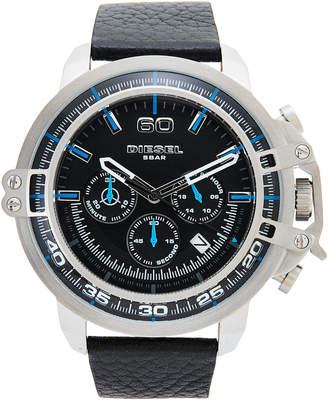 Diesel DZ4408 Silver-Tone & Black Watch